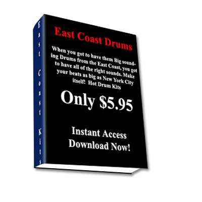 Product picture East Coast Drum Samples,East Coast Drum Loops