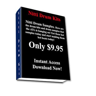 Product picture Buy Drum Samples,Buy Drum Loops,Nitti Style Drum Kits